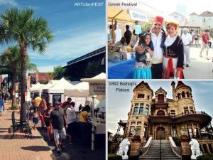 galveston tx october free festivals