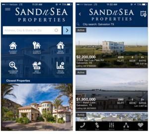 galveston real estate app