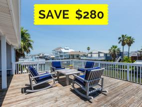beachfront rental Salty Daze - Save $280