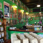 interior of Galveston Coffee Roasters shop
