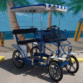 galveston island surrey bike rental