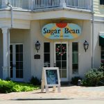exterior of SugarBean Coffee & Cream in Galveston island texas