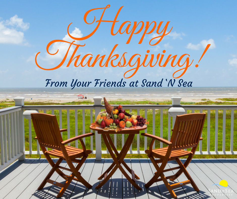 Happy Thanksgiving on Galveston Island