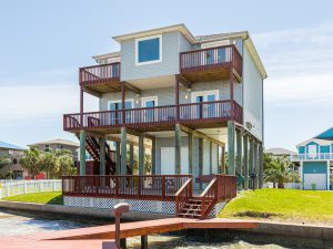 Carpe Diem texas bayfront vacation rental