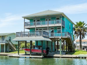 Coastal Retreat bayfront Galveston texas vacation rental