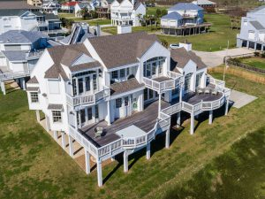 Sea Eagle beachfront Galveston vacation rental