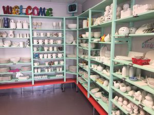Pottery on Galveston Island