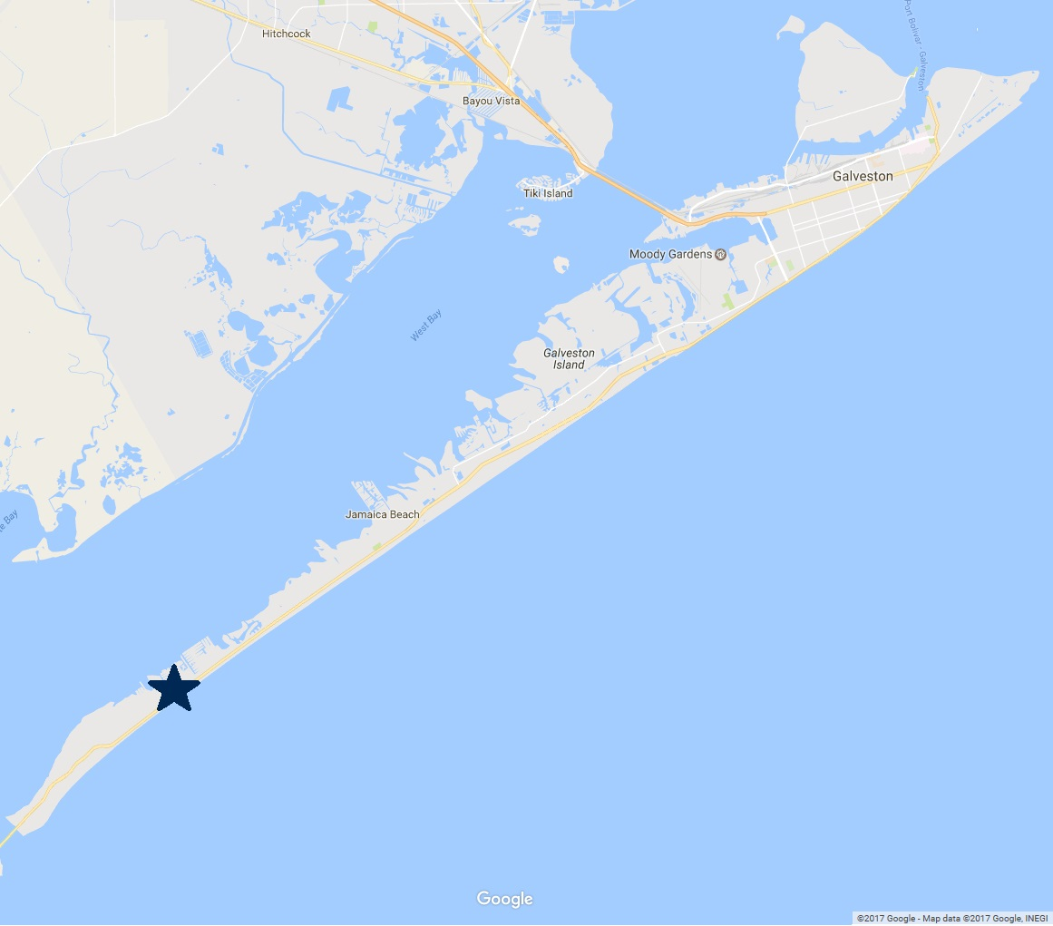 Galveston Map Of Texas.Terramar Beach Sand N Sea