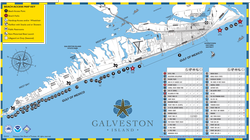 beach access map galveston tx