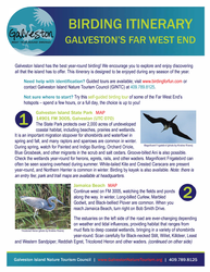 pdf guide where to bird in far west end of galveston