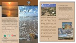 brochure to galveston island state park