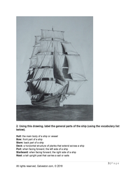 tall ship elissa vocabulary worksheet