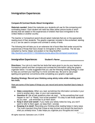 galveston immigration worksheet for homeschool students